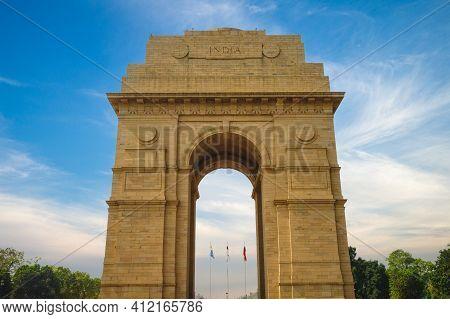 India Gate, Aka All India War Memorial,  In New Delhi, India