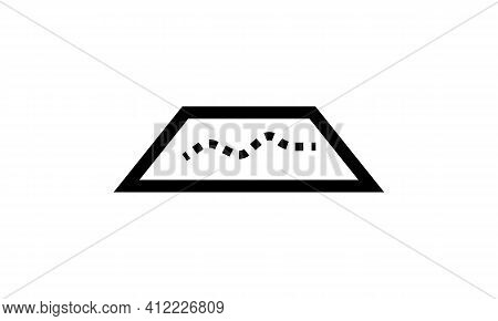 Map Icon Isolated On White Background From Travel And Adventure Collection. Map Icon Trendy And Mode