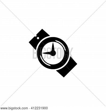 Watch Icon Isolated On White Background From Calendar And Date Collection. Watch Icon Thin Line Outl