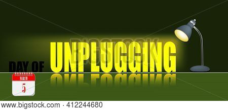 Card For Event March Day Day Of Unplugging