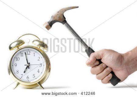Hitting The Alarm Clock