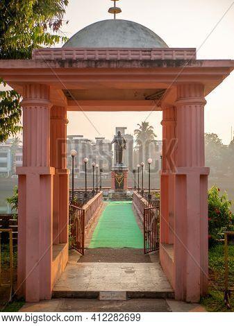 Statue Of Dr Ambedkar At Chavdar Tale