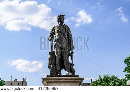 Kherson, Ukraine - July 22, 2020: Monument Of Prince Grigory Potemkin-tavricheski In Kherson, Isolat