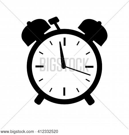 Time Icon Vector Isolated On White Background