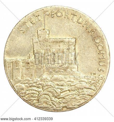 Silver Jubilee Medallion Of King George V 1935
