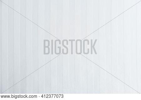 Top View Of White Cloth Diagonal Stripes. White Background.