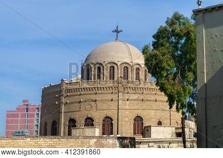 Cairo, Egypt - St George Church In Coptic Cairo, Egypt