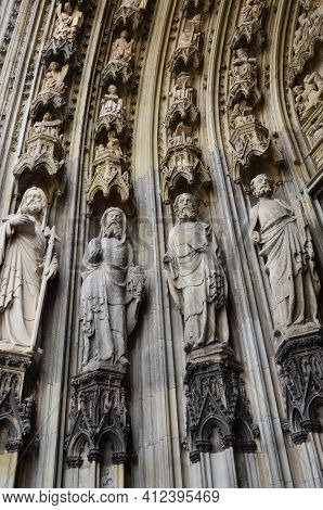 Cologne Cathedral. World Heritage - A Roman Catholic Gothic Cathedral In Cologne