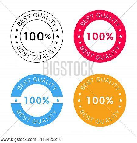 Collection Of Best Quality Emblem Badges Vector Design.