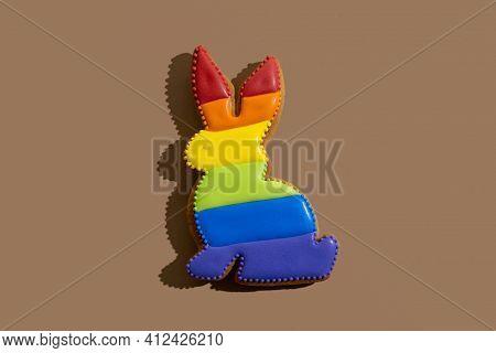 Lgbtqia Tolerance Gay Pride Symbol Bakery Food