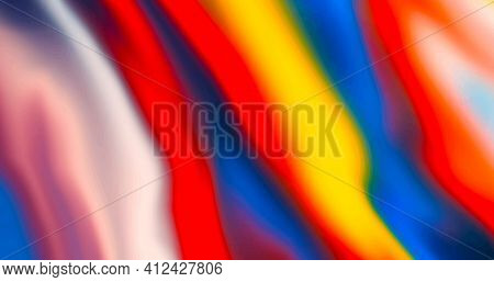 Colorful Abstract Background. Modern Backdrop. Cool Trendy Pattern.
