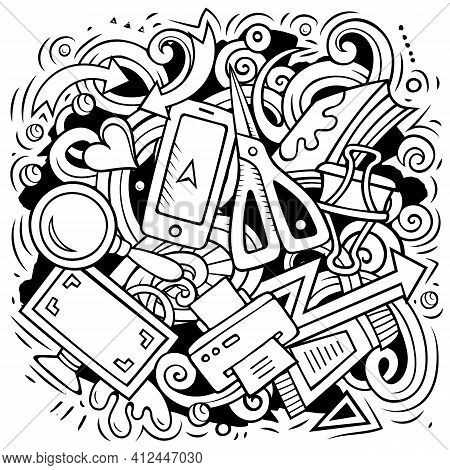 Cartoon Vector Doodles Art And Design Illustration