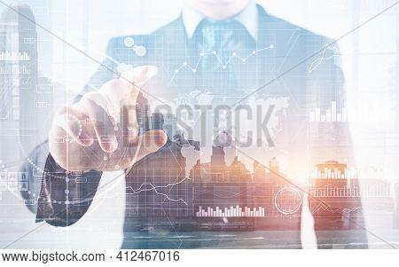 New Business Intelligence Bi Key Performance Indicator Kpi Analysis Dashboard Transparent Technology