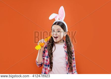 Easter Preparations. Bunny Hunt. Just Having Fun. Ready For Party. Happy Childhood.