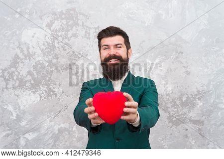 Ready For Romantic Date. Romantic Present. Romantic Boyfriend. Feast Of Saint Valentine. Generous Ma