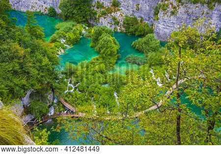 Plitvice Lakes National Park Croatia Europe's Best Destinations Landscapes.