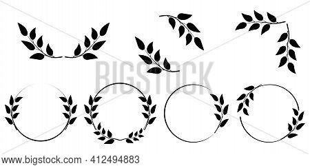 Vector Icon. Winner Award. Wedding Decoration. Retro Icon For Decoration Design. Stock Image. Eps 10