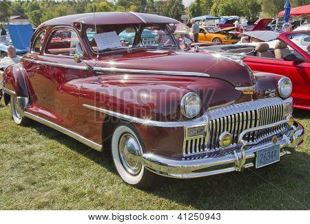 1948 Desoto Car Side View