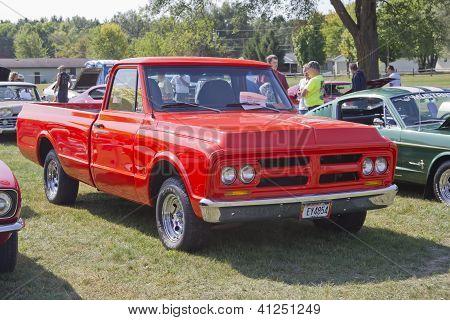 1972 Red Gmc Truck