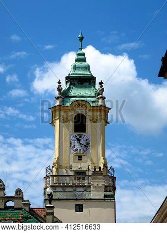 The Vintgae Church In Bratislava City, Slovakia