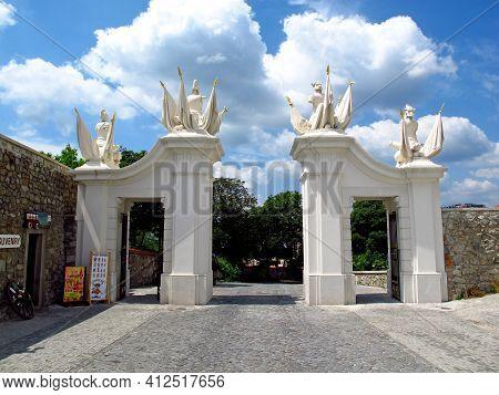 Bratislava, Slovakia - 10 Jun 2011: The Castle In Bratislava City, Slovakia
