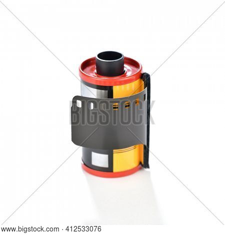 35mm Slide Positive Film Isolated