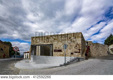 Belmonte, Portugal; May 2017 : Museum Of The Discoveries, The Historical Museum Of Belmonte In Portu