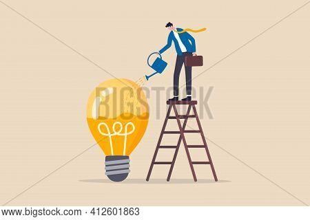 Idea Development, Creativity Genius Or Knowledge To Think About New Business Idea, Skill Improvement