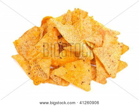 Nacho Cheese Tortilla Corn Chips