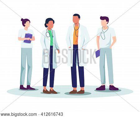 Medical Staff Vector Illustration