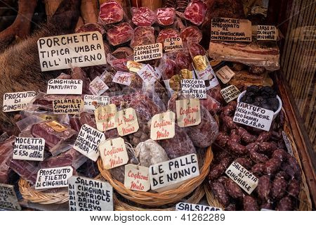 Umbrian Food, Italy