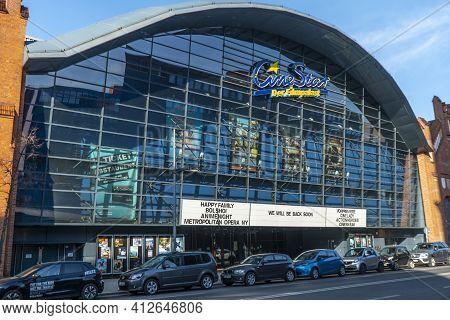 Cinestar Movie Theater In Berlin Tegel - Berlin, Germany - March 11, 2021