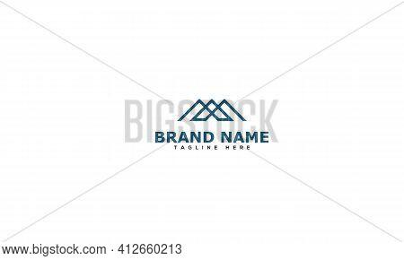 Ma Logo Design Template Vector Graphic Branding Element.
