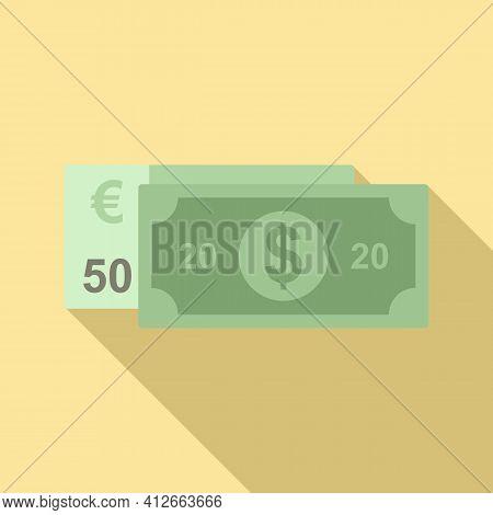 Affiliate Marketing Money Icon. Flat Illustration Of Affiliate Marketing Money Vector Icon For Web D