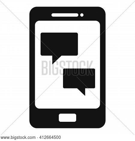 Smartphone Affiliate Marketing Icon. Simple Illustration Of Smartphone Affiliate Marketing Vector Ic