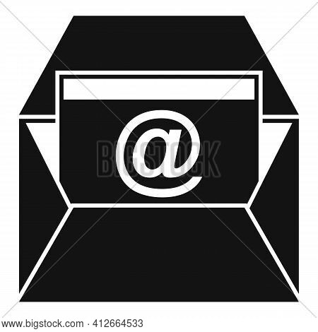 Marketing Info Mail Icon. Simple Illustration Of Marketing Info Mail Vector Icon For Web Design Isol