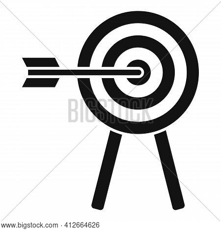 Affiliate Marketing Target Icon. Simple Illustration Of Affiliate Marketing Target Vector Icon For W
