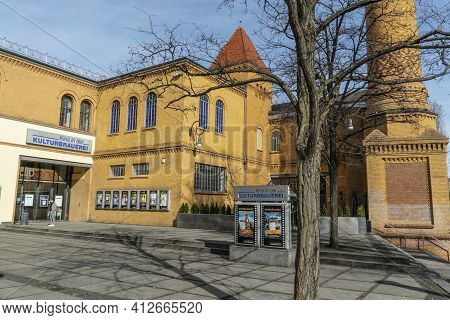 Famous Event And Entertainment Complex In Berlin Called Kulturbrauerei - Berlin, Germany - March 11,