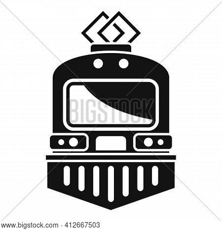 Urban Electric Train Icon. Simple Illustration Of Urban Electric Train Vector Icon For Web Design Is