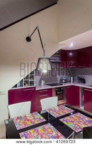 Inside Modern Loft Kitchen