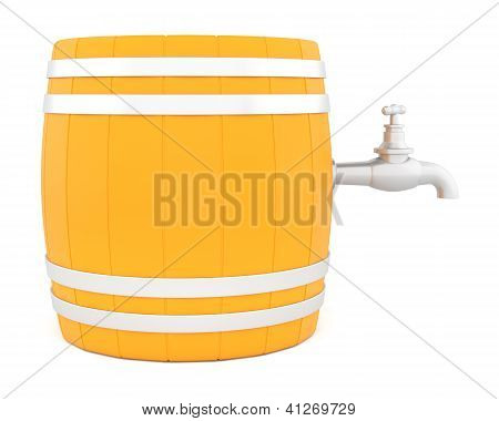 Barrel With The Tap.