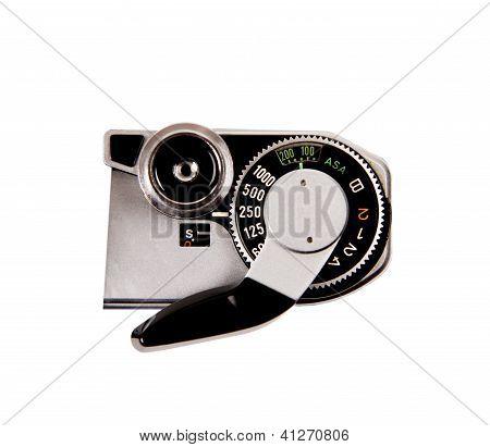 Closeup film camera