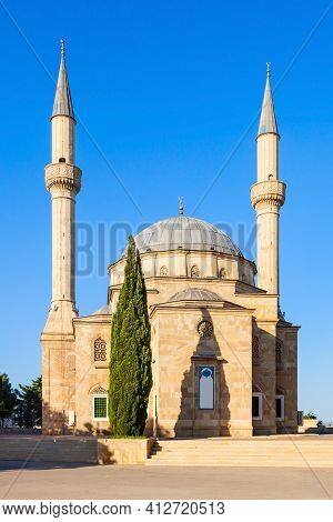 The Mosque Of The Martyrs Or Turkish Mosque Is A Mosque In Baku, Azerbaijan, Near The Martyrs Lane A