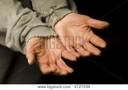 Hands Out