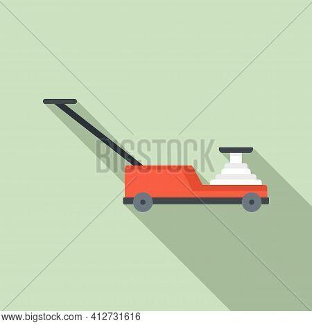 Hydraulic Lift Icon. Flat Illustration Of Hydraulic Lift Vector Icon For Web Design