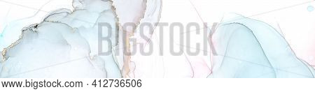 Acrylic Ink Mix. White Abstract Wallpaper. Sophisticated Oil Drops. Pastel Wave Pattern. Alcohol Ink