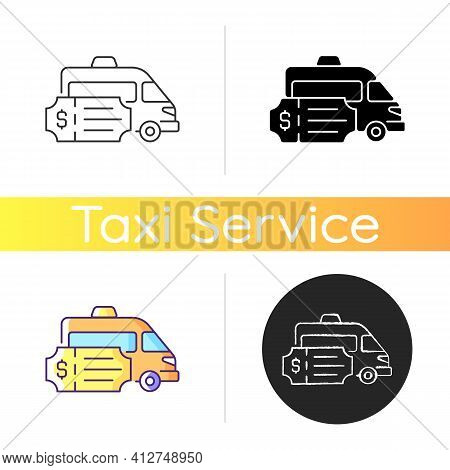 Special Event Transportation Icon. Corporate Transport Rental. More Than Just Taxi. Car Order. Trans