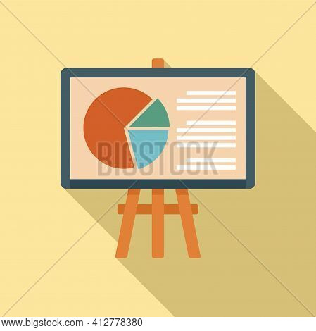 Purchasing Manager Banner Icon. Flat Illustration Of Purchasing Manager Banner Vector Icon For Web D