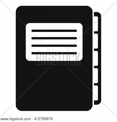 Purchasing Manager Folder Icon. Simple Illustration Of Purchasing Manager Folder Vector Icon For Web