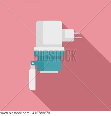 Car Charger Plug Icon. Flat Illustration Of Car Charger Plug Vector Icon For Web Design